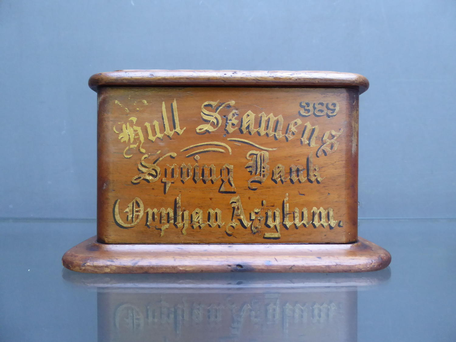 Hull Seamen's Orphans Asylum Collection Box