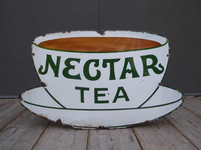 Nectar Tea Enamel Sign
