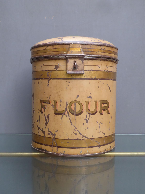Tole Flour Bin