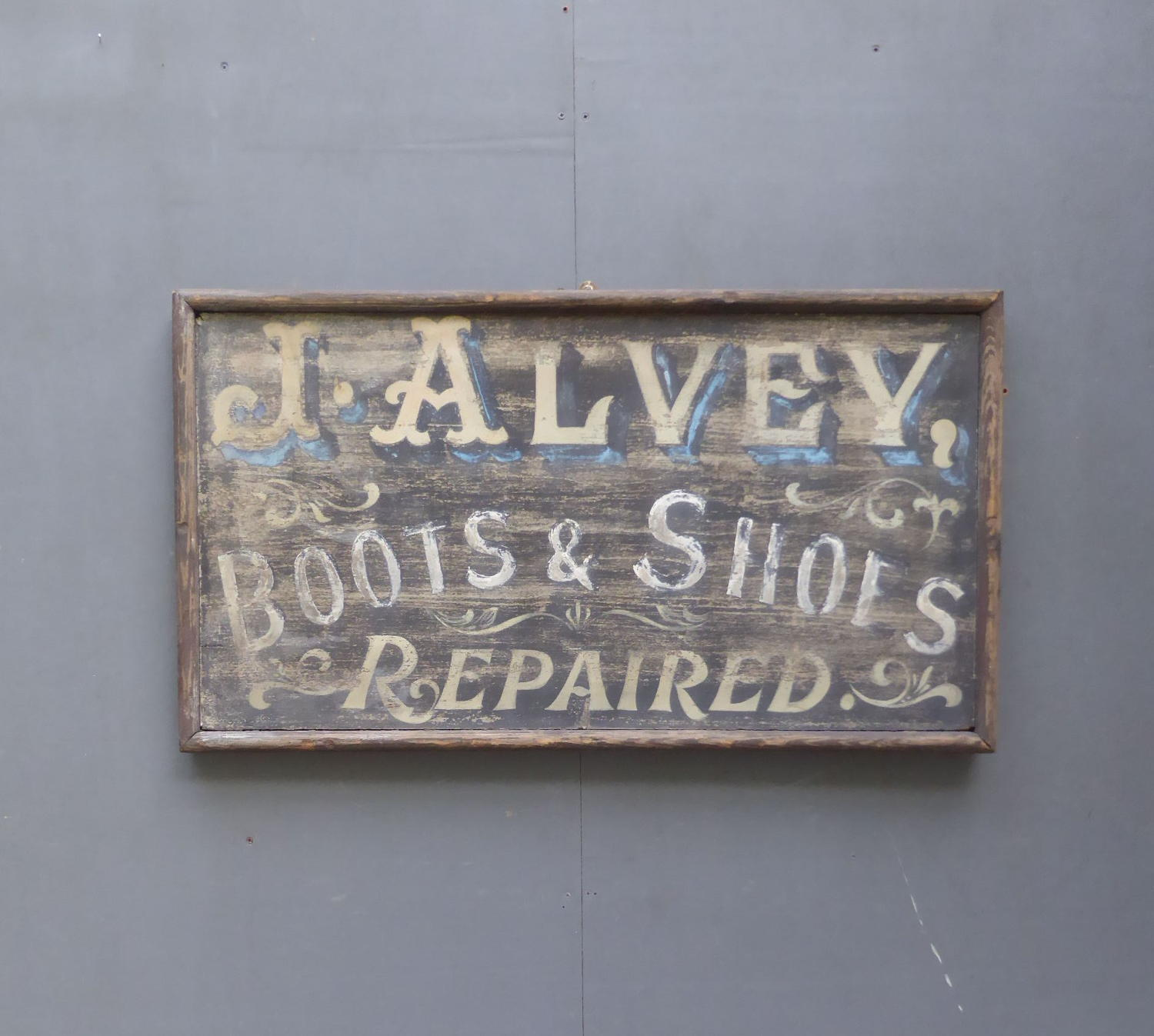 Victorian Cobblers Sign