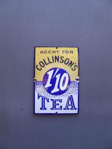 Collinsons Tea Enamel Sign
