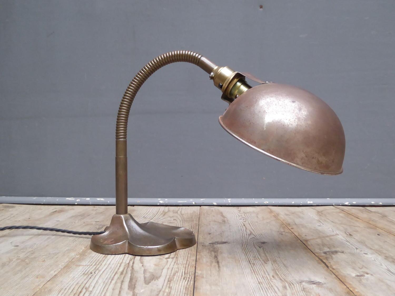 Copper Desk Lamp