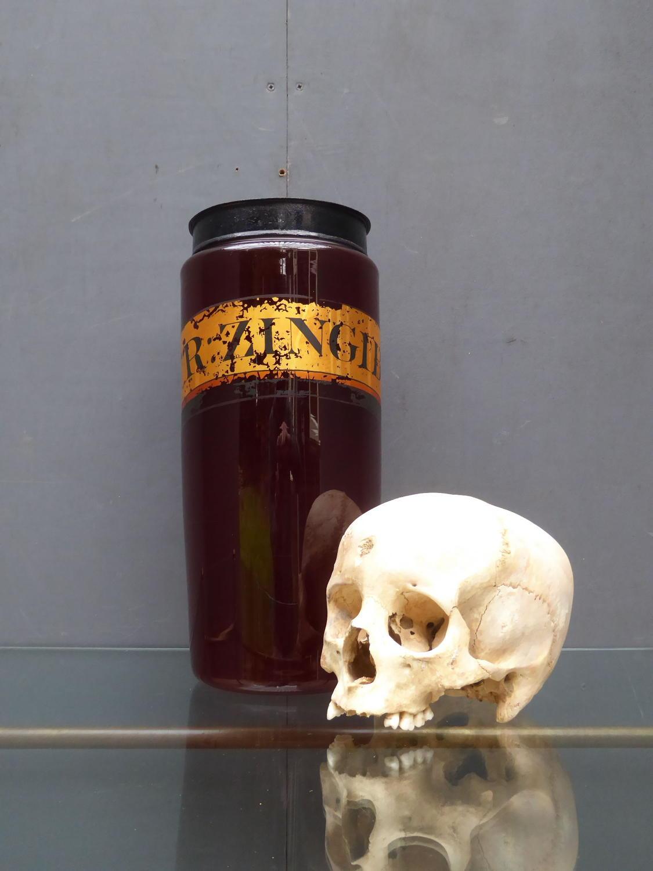 Oversized Victorian Apothecary Jar