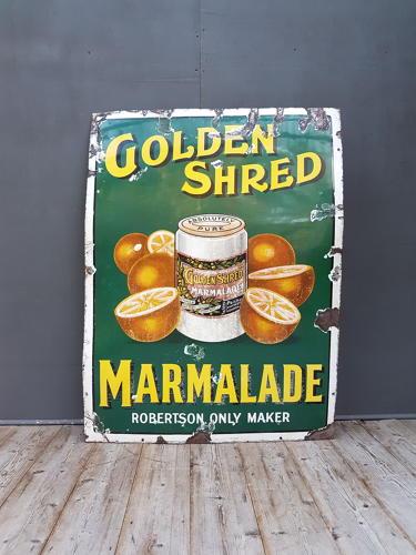 Robertson's Marmalade Pictorial Enamel Sign