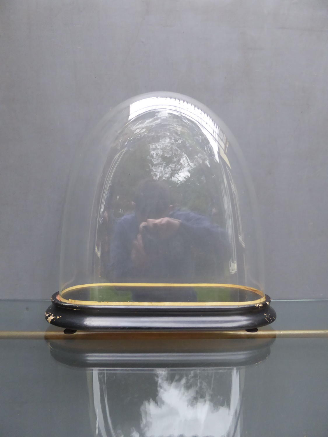 Victorian Glass Display Dome