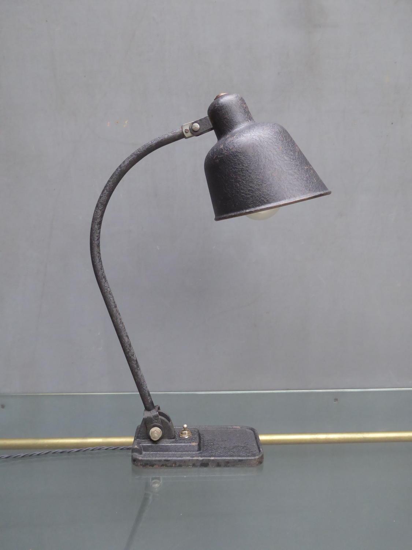 Early Bauhaus Desk Lamp