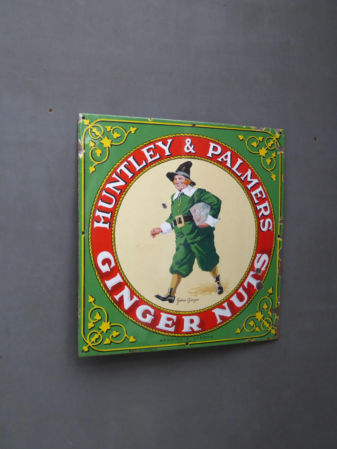 Huntley & Palmer's Enamel Sign