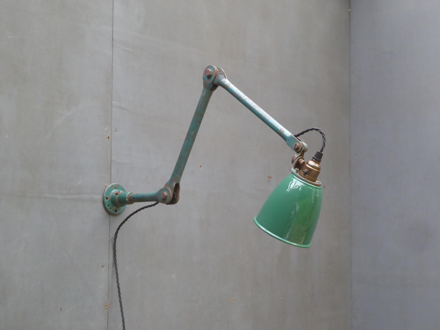 Small Machinist Lamp