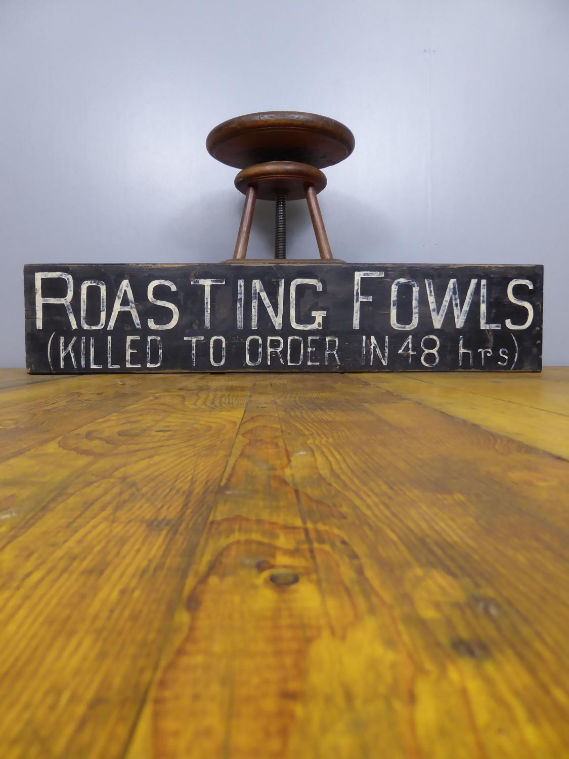 Roasting Fowls ~ Killed To Order
