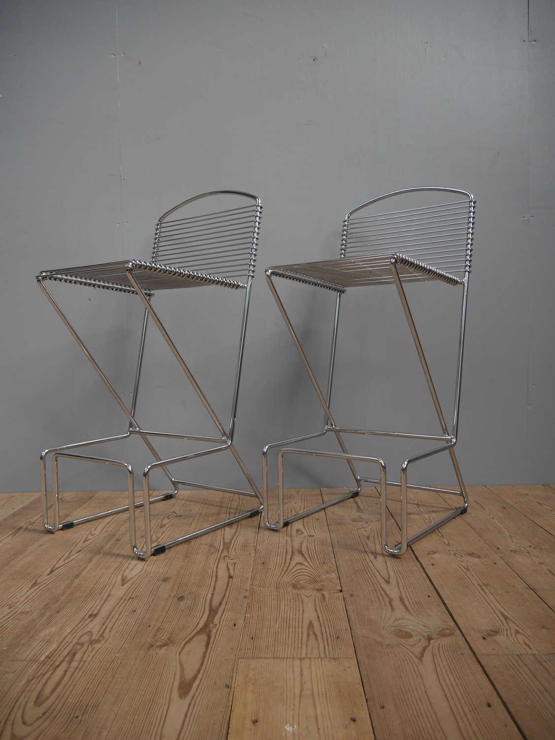 Chrome Bar Stools ~ Till Behrens For Schlubach