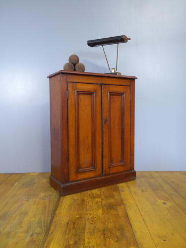 Golden Oak School Cupboard c1910