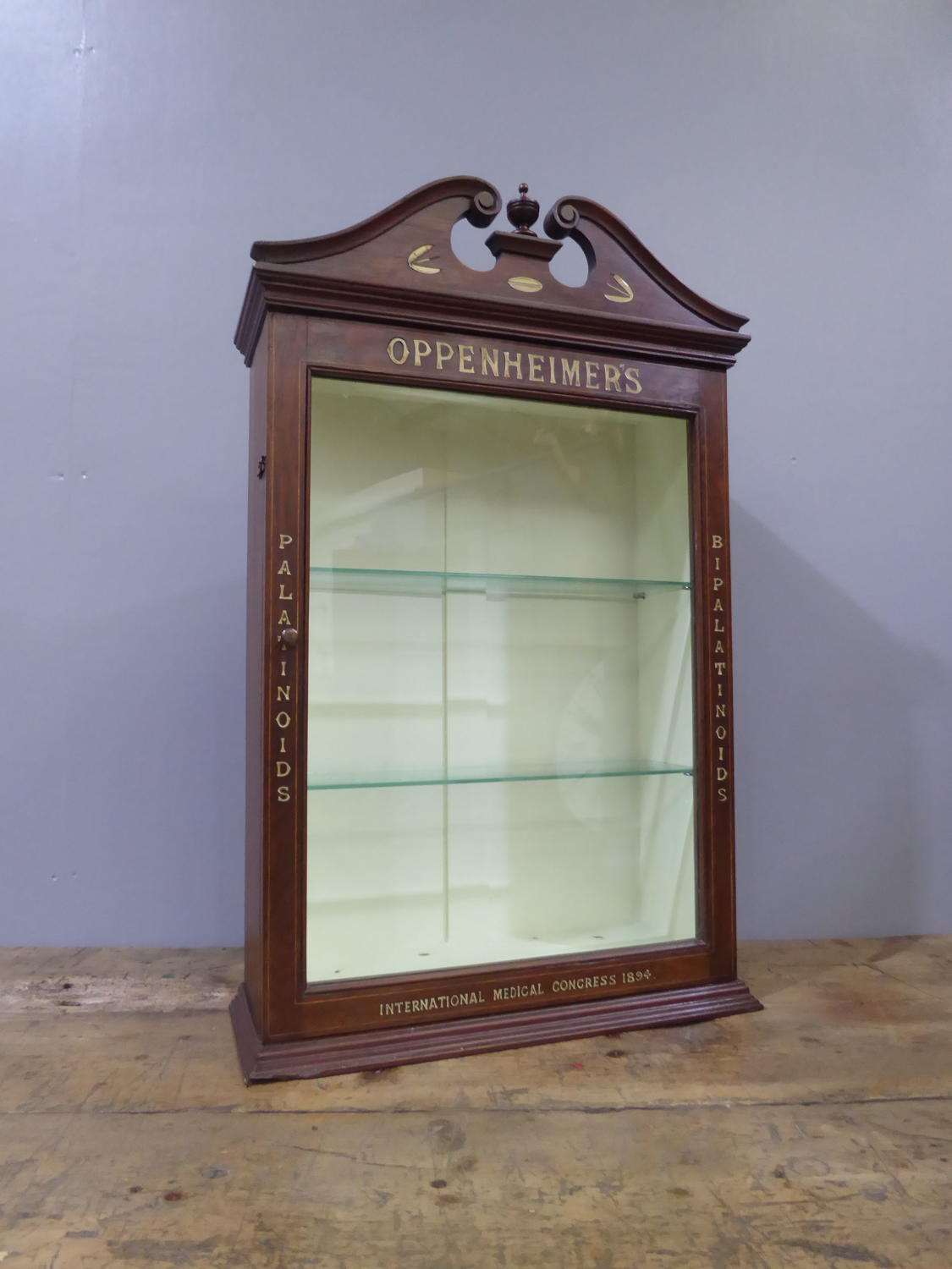 Oppenheimer's Apothecary Cabinet