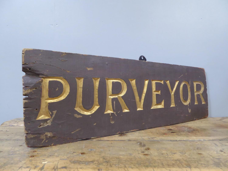 Purveyor