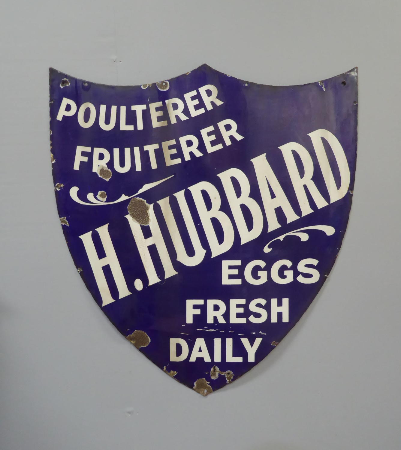 Grocers Trade Sign c1910