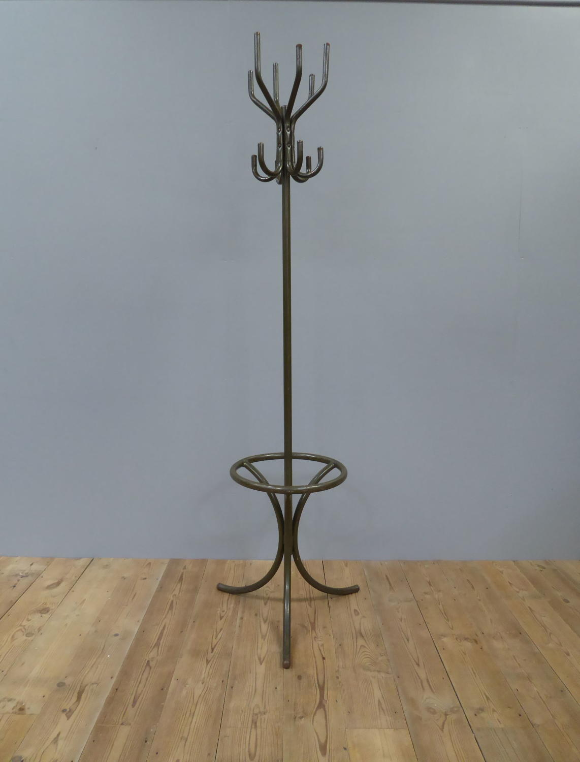 Tubular Steel Factory Coat Rack