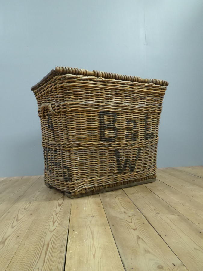 Oversized Wicker Mill Basket