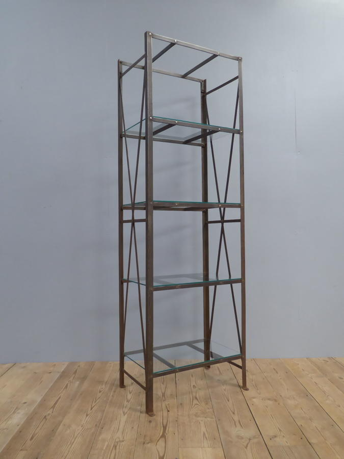 Solicitors Riveted Iron Deed Rack
