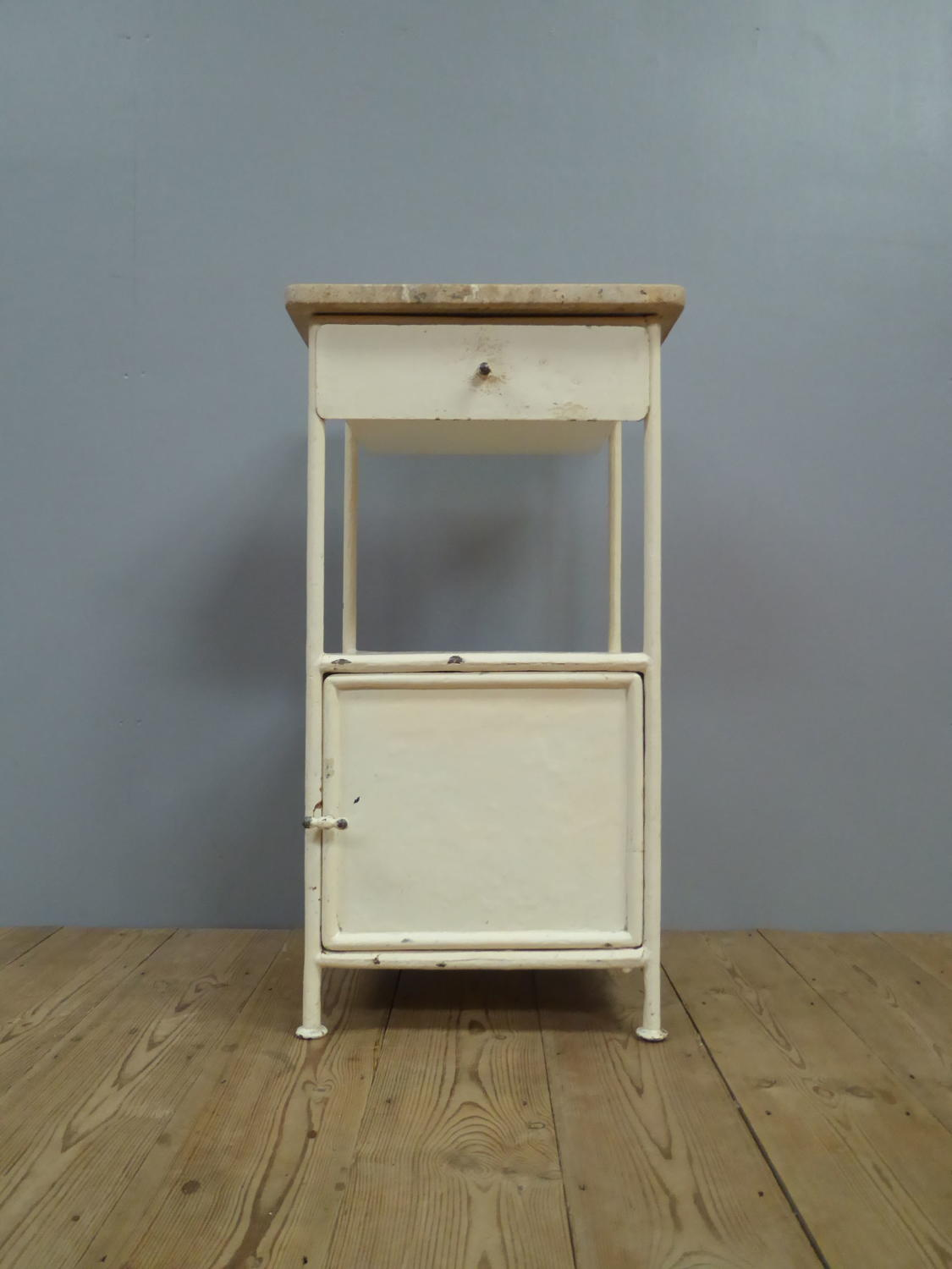 Marble Topped Cabinet