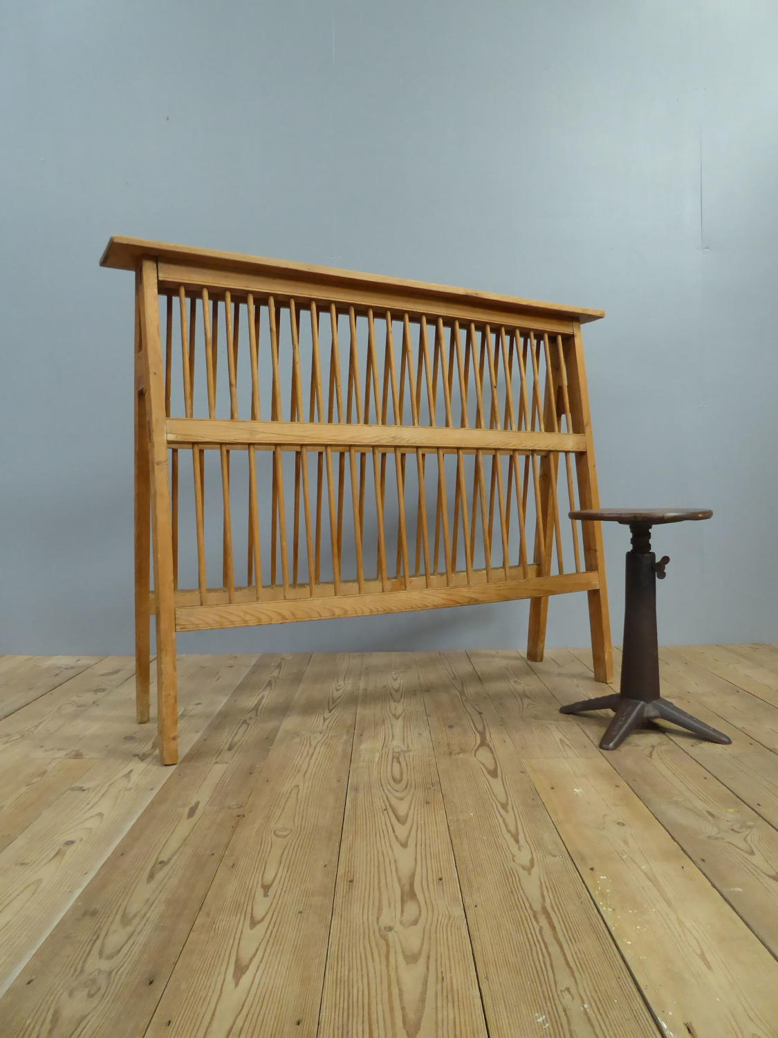 Huge Country House Plate Rack