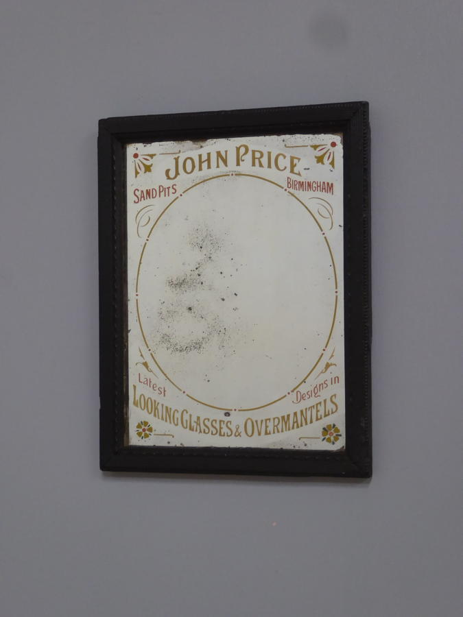 John Price Looking Glasses & Overmantles Advertising Mirror