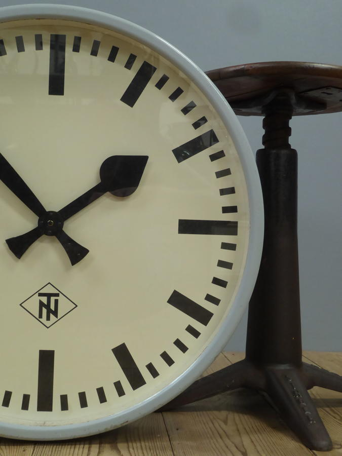 XL Modernist Station Clock