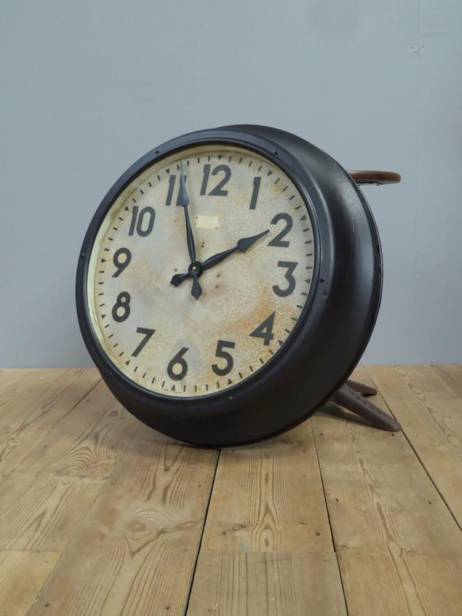Large Smiths Station Clock