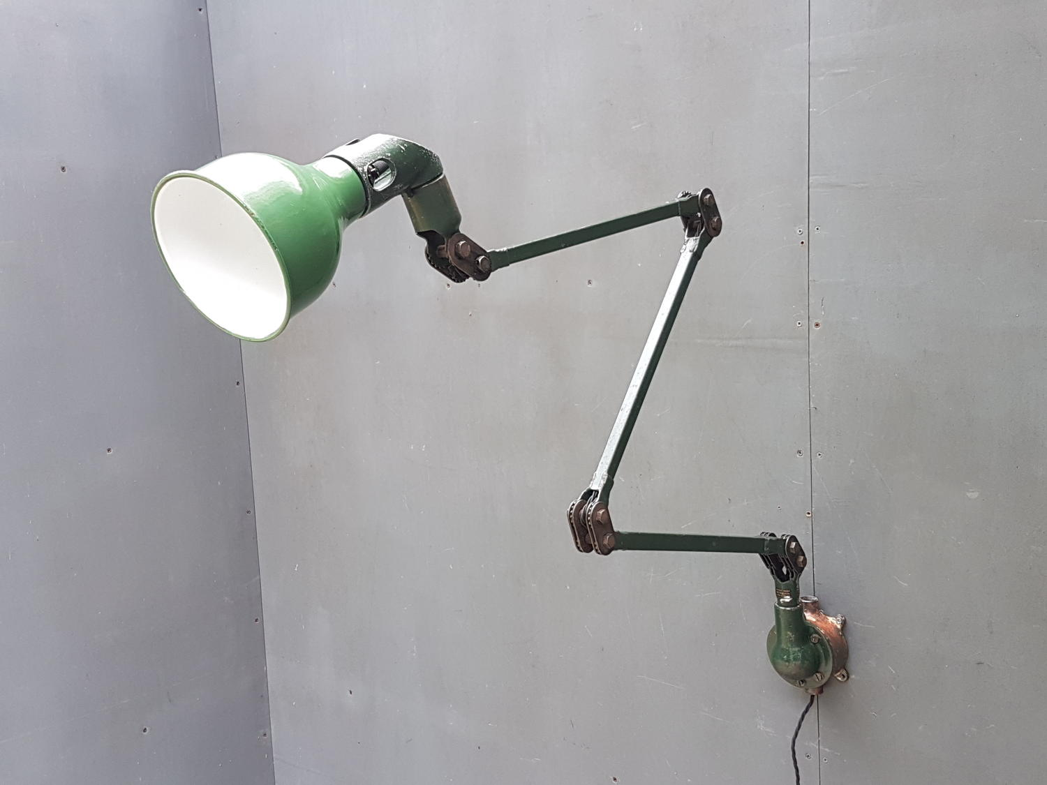 XL Mek Elek Machinist Lamp