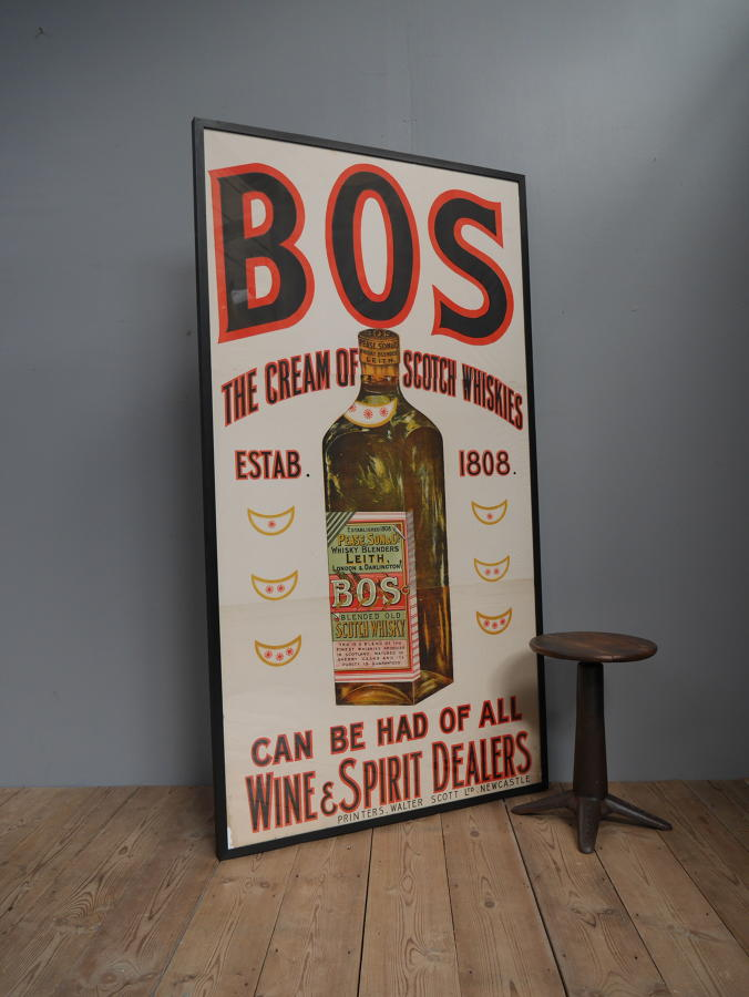 Enormous BOS Whisky Billboard Poster