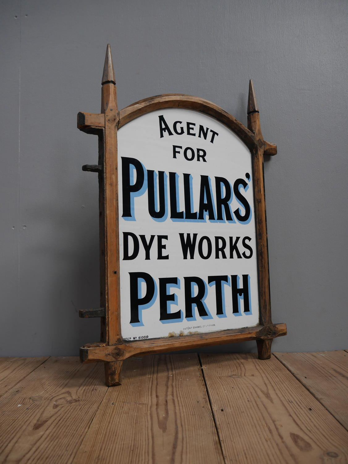 Pullars Dye Works Enamel Sign