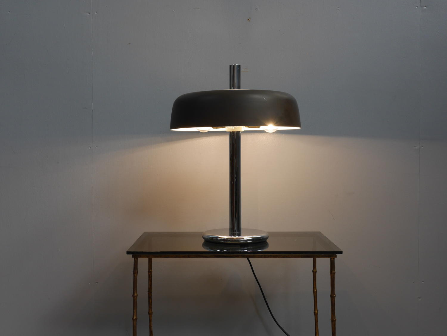 'Mushroom' Table Lamp by Egon Hillebrand