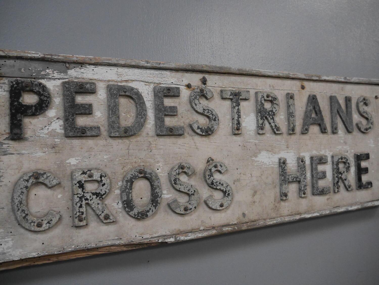 Great Western Railway Crossing Sign