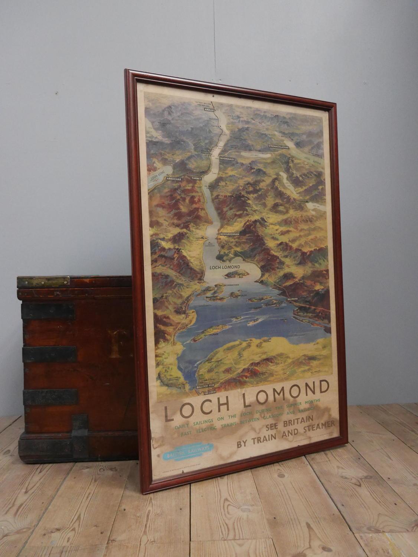 Loch Lomond ~ British Railways Waiting Room Poster