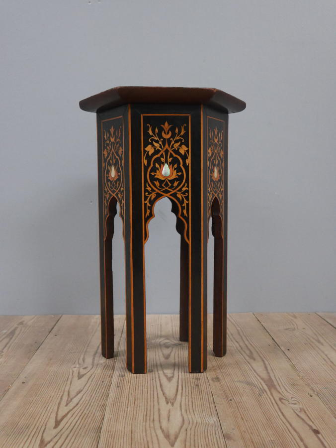 Liberty Moorish End Table c1900