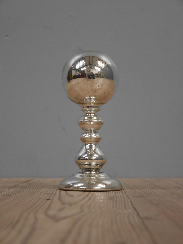 Mercury Glass Gazing Ball