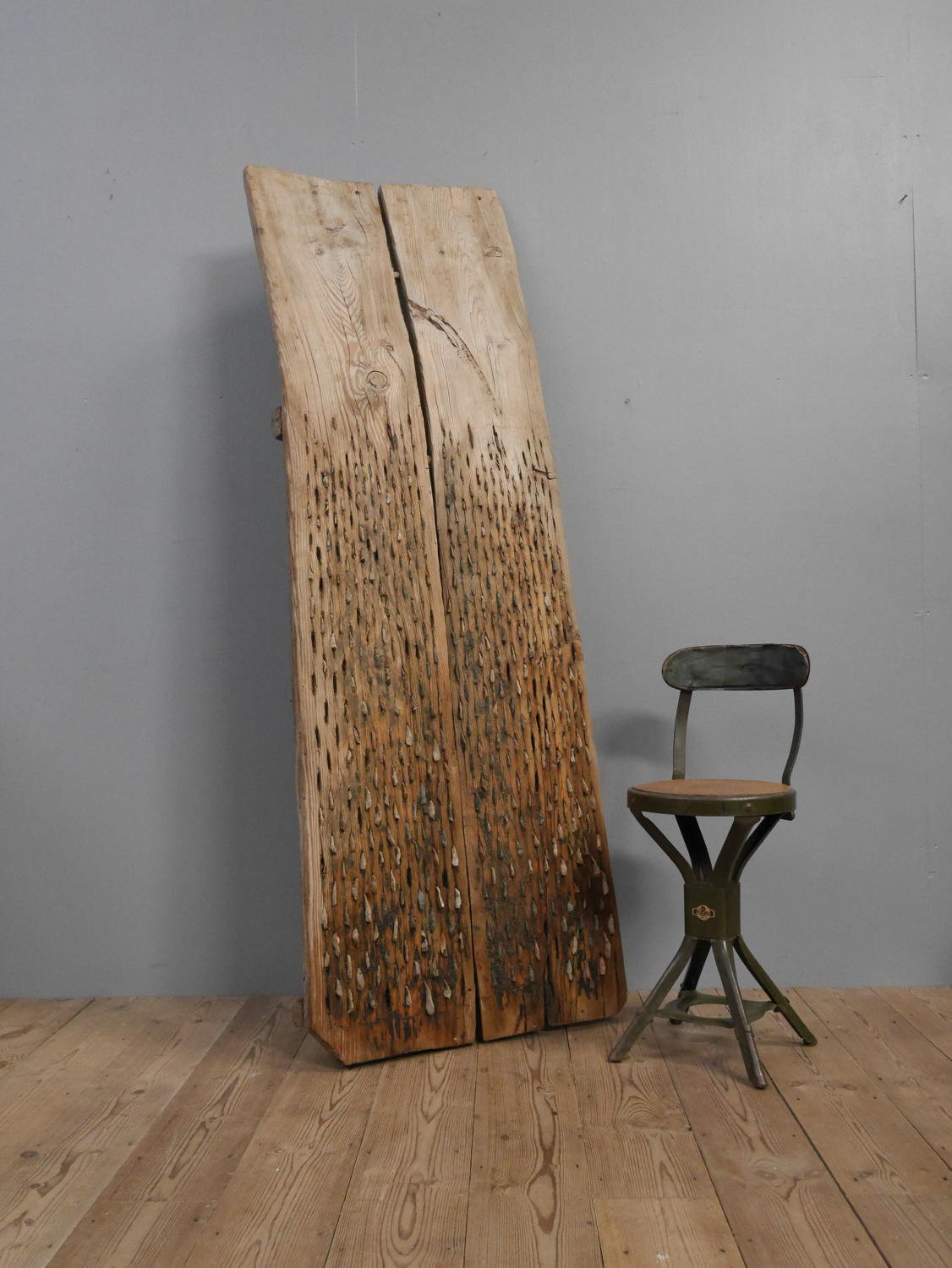 19th Century Threshing Board