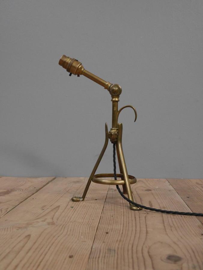 Brass Pullman Lamp