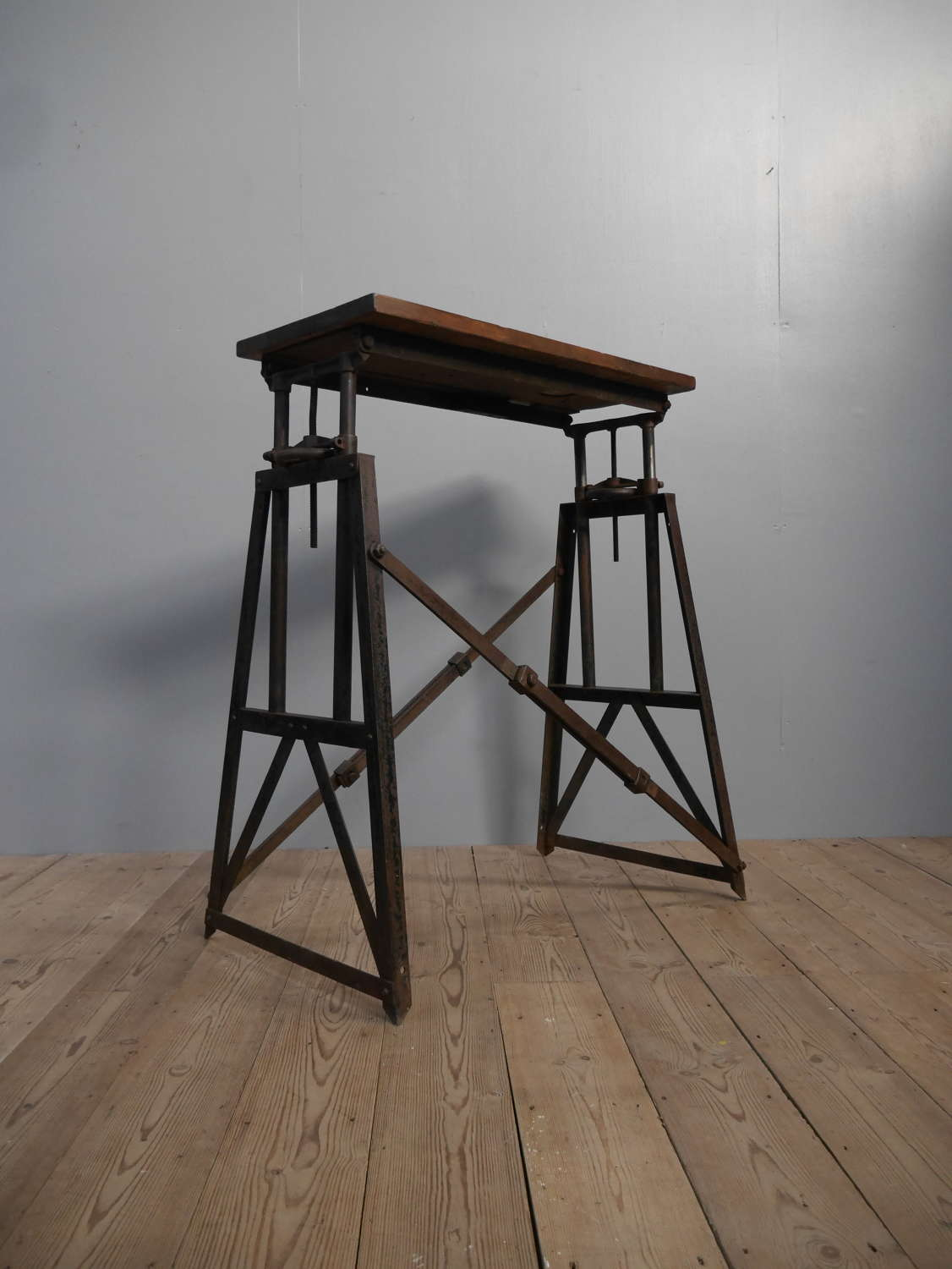 Extraordinary Industrial Table