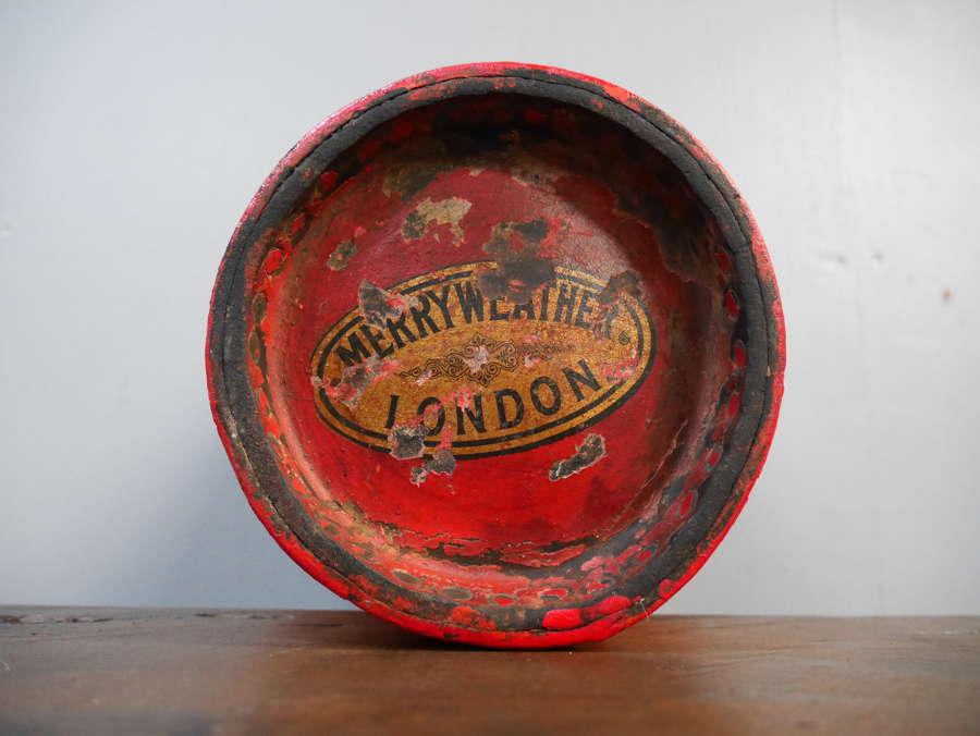 Merryweather Leather Fire Bucket