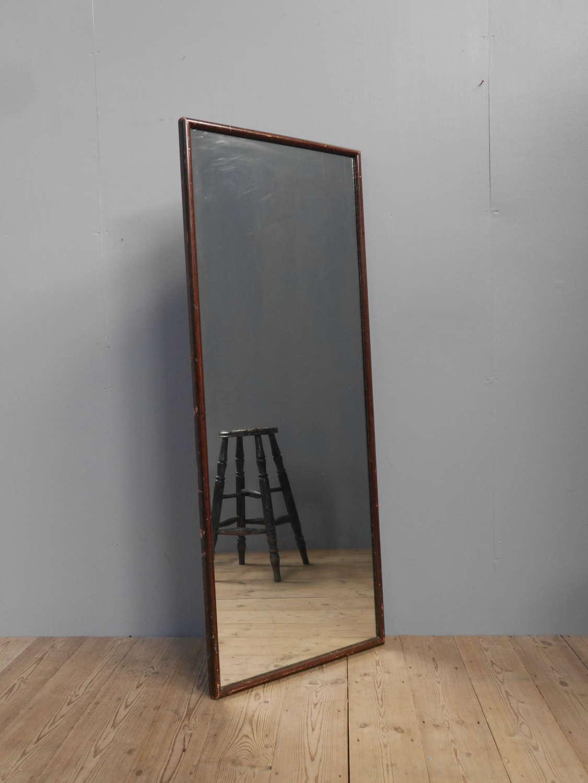 Faux Mahogany Tailor's Mirror