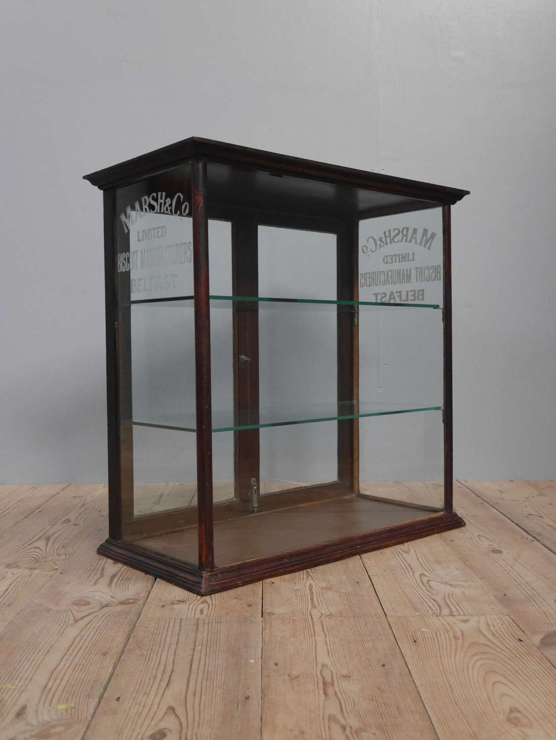 Marsh & Co Biscuits Shop Display Cabinet