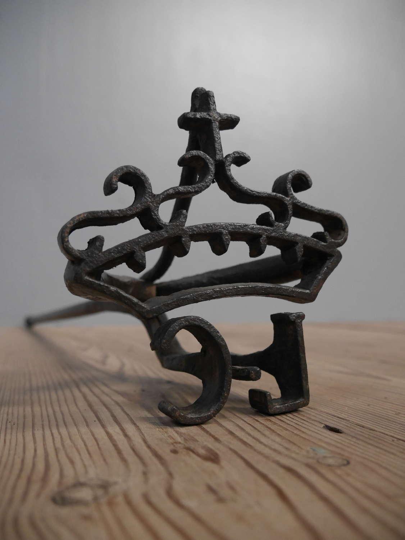 Oversized 17th C Royal Branding Iron