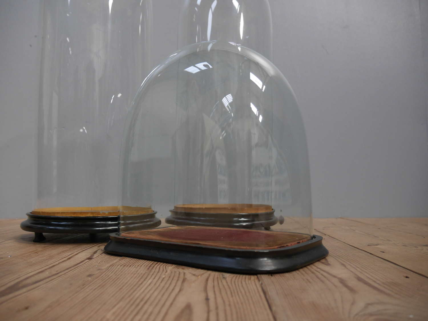 Square Victorian Glass Display Dome