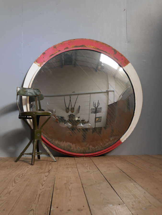 Huge Convex Railway Mirror