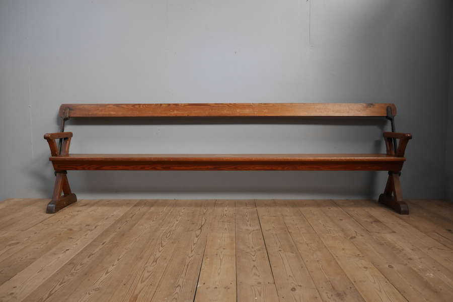 Huge Articulated Bench c1900