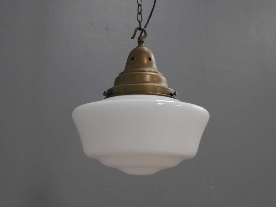 Opaline Pendant Light