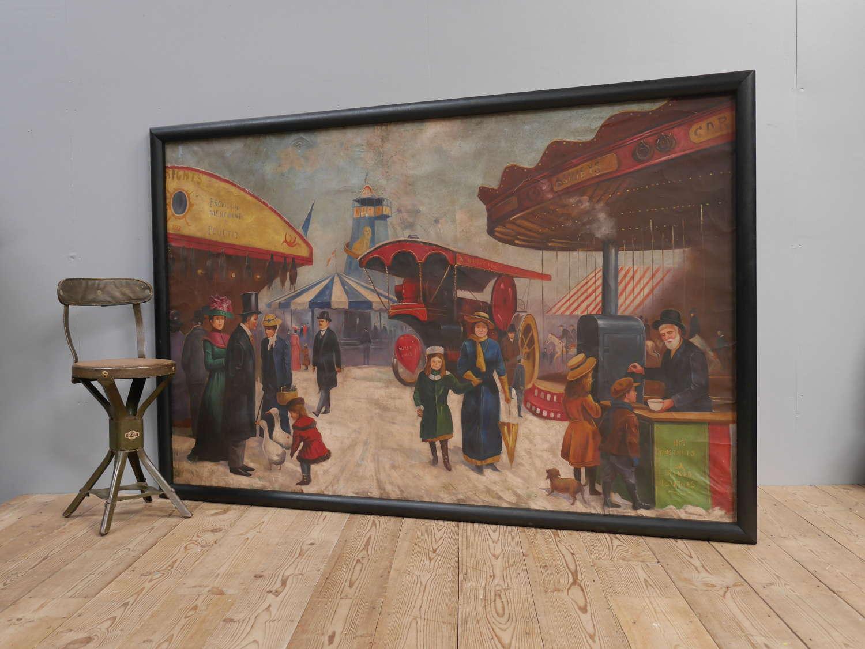 Huge Fairground Canvas