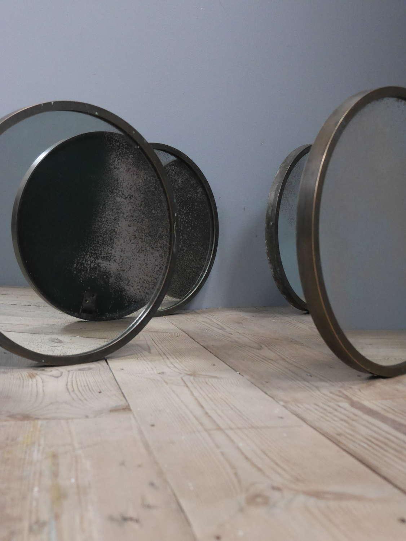Pairs of Bronze Mirrors