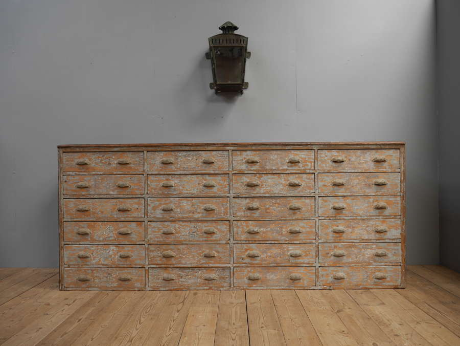 Vast Bank of Drawers c1890