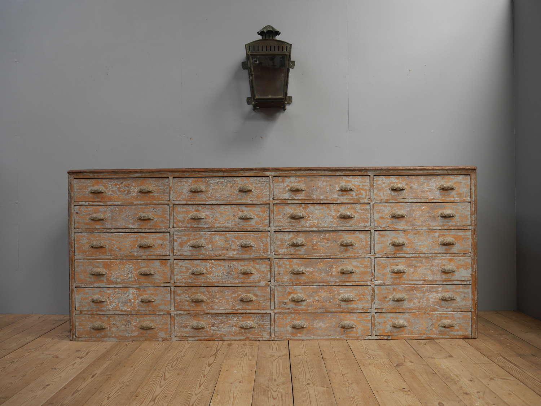 Vast Bank of Drawers c1890