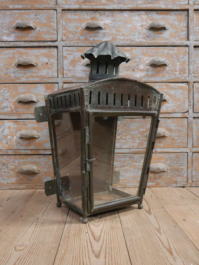 Georgian Copper Wall Lantern